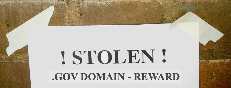 Stealing the US Government .GOV Domain Names