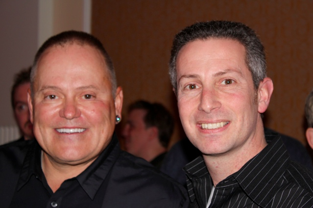 Bob Parsons, CEO of Go Daddy and Mike Cyger, Publisher of DomainSherpa.com