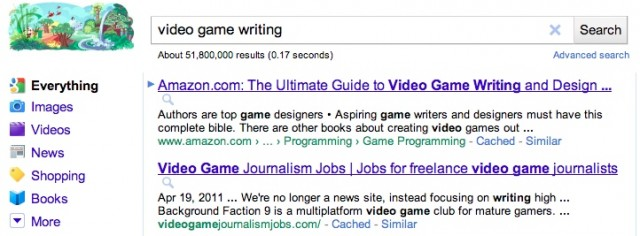 google-video-game-writing-2