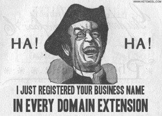 Cybersquatter: I Just Stole Your Domain Name In Every TLD