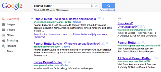 google-adwords-peanutbutter-advertising