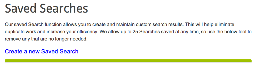 NameJet Saved Search Email