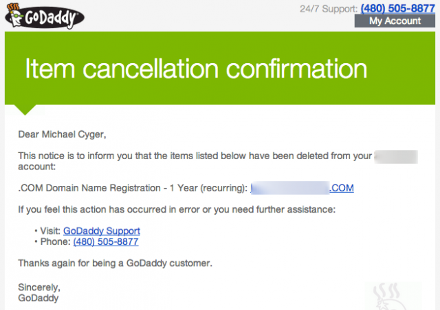 godaddy-dcc-delete-domain-email