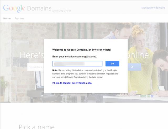 2-Google Domains   Invite Needed