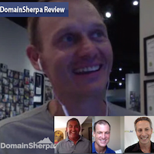 DomainSherpa Review with Michael Cyger, Frank Schilling, Monte Cahn and Shane Cultra