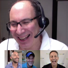 DomainSherpa Review with Michael Cyger, Andrew Rosener, Larry Fischer and Shane Cultra