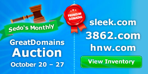 Premium Domains at Sedo