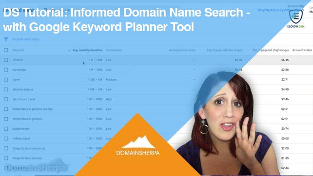 DS Tutorial - Google Keyword Planner