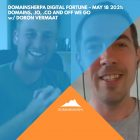 DomainSherpa Digital Fortune – May 18, 2021: Domains, .IO, .CO, and Off We Go with Doron Vermaat