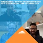 DomainSherpa – 10+11=21: Breaking News with Reza Sardeha of DAN.com – October 11, 2021