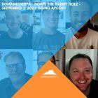 DomainSherpa – Down The Rabbit Hole – September 2, 2021: Going ApeSh!t