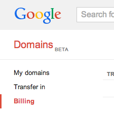 Welcome to the Google Domains invite-only beta!