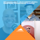 DomainSherpa Weekly – Jan 29: GameStop, Bitcoin & Domain Names: The Revolution Will Be Digitized