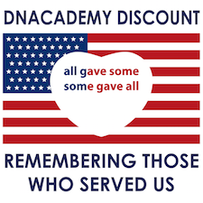 Memorial Day Military Discount @ DNAcademy