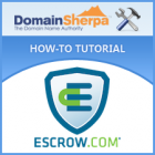 Domain Name Escrow with Escrow.com